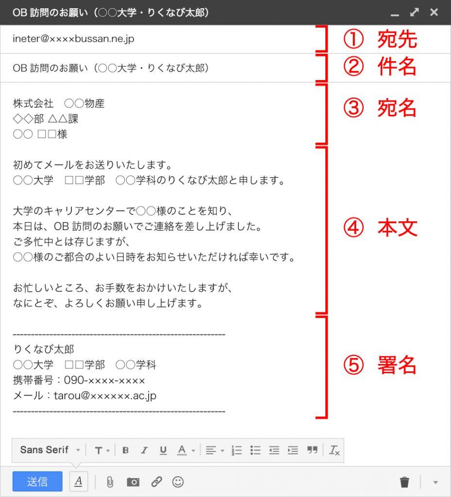【例文付き】OB・OG訪問で役に立つメールの書き方 - リクナビ ...