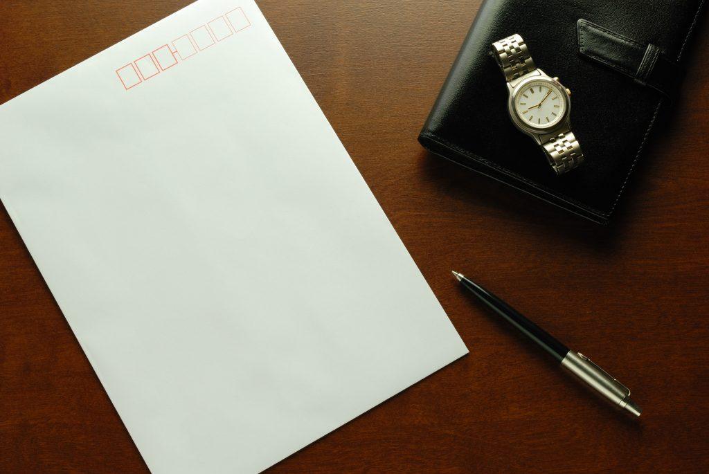 封筒 書き方 在中 手書き