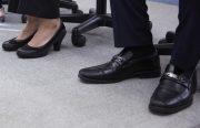 就活用の靴の画像
